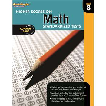 Higher Scores On Math Gr 8 By Houghton Mifflin