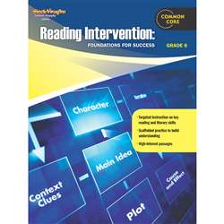 Reading Intervention Gr 6 Foundations For Success By Houghton Mifflin