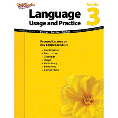 Language Usage And Practice Gr 3 By Steck Vaughn