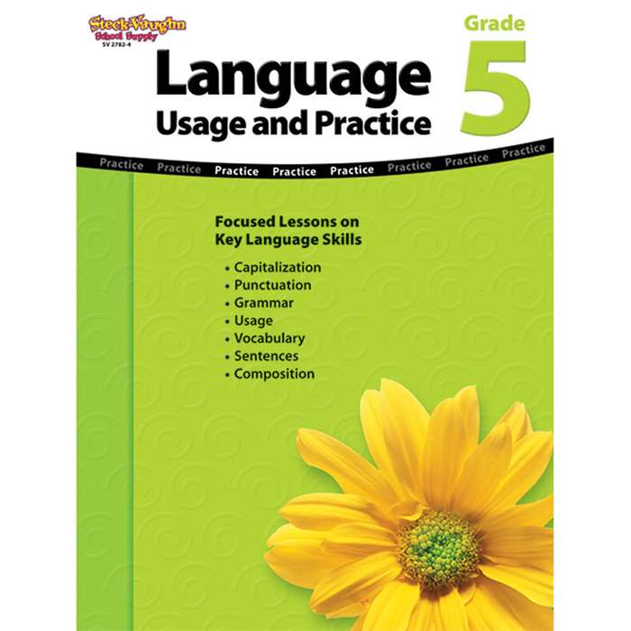 Language Usage And Practice Gr 5 By Steck Vaughn