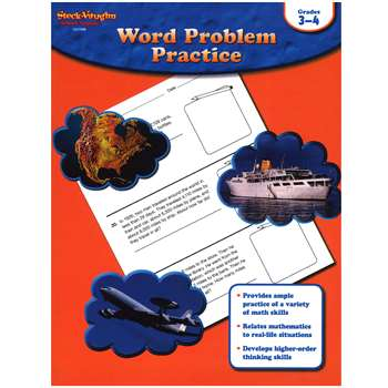 Word Problem Practice Gr 3-4 By Houghton Mifflin
