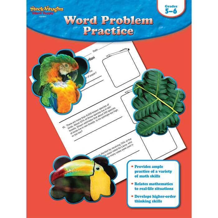 Word Problem Practice Gr 5-6 By Houghton Mifflin