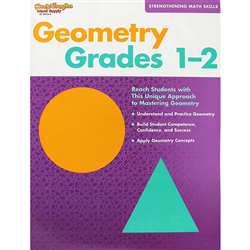 Strengthening Math Skills Geometry Gr 1-2 By Harcourt School Supply