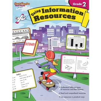 Using Information Resources Gr 2 By Harcourt School Supply