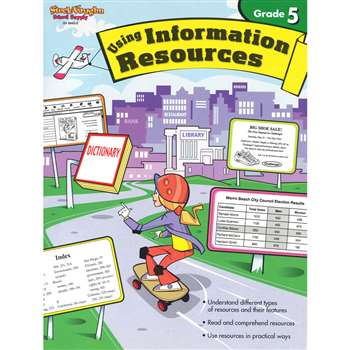 Using Information Resources Gr 5 By Harcourt School Supply