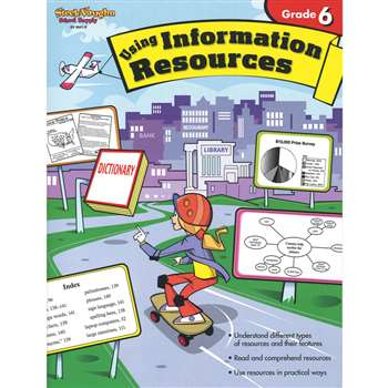 Using Information Resources Gr 6 By Harcourt School Supply