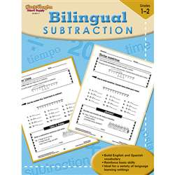 Bilingual Math Subtraction By Houghton Mifflin
