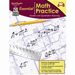 Essentl Math Practice Quantitative Reasoning By Houghton Mifflin