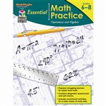 Essential Math Practice Operations And Algebra By Houghton Mifflin