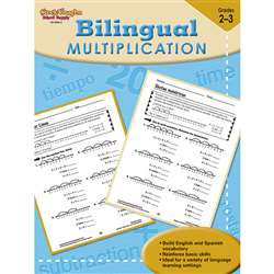 Bilingual Math Multiplication By Houghton Mifflin