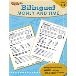 Bilingual Math Money & Time By Houghton Mifflin