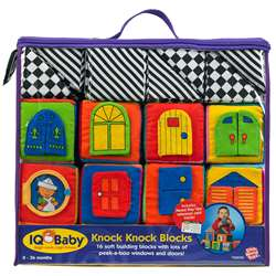 Baby Knock-Knock Blocks By Small World Toys