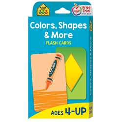 Colors Shapes & More Flash Cards By School Zone Publishing