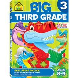 Big Workbook Third Grade By School Zone Publishing