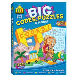 Big Workbook Alphabet Codes Puzzles & More, SZP06349