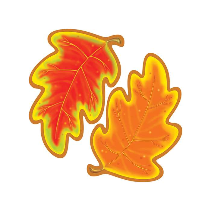 Classic Accents Autumn 36/Pk 5X5 Leaves By Trend Enterprises
