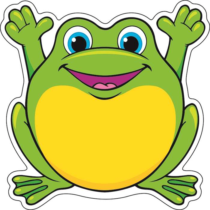 Classic Accents Friendly Frogs 36Pk 5 X 5 By Trend Enterprises