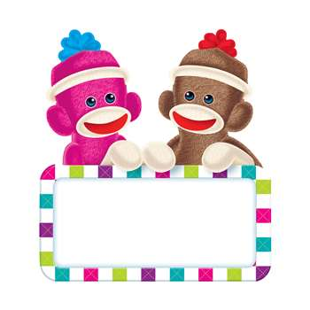 Sock Monkeys Signs Classic Accents By Trend Enterprises