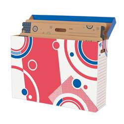 File N Save Storage Box Bulletin Board 28X19X7 28 X 19 X 7 By Trend Enterprises