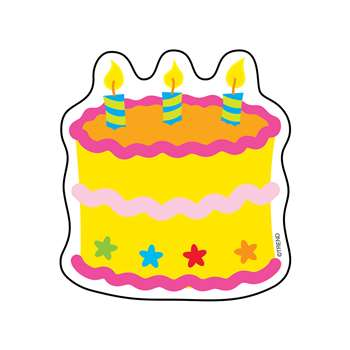 Mini Accents Birthday Cake 36/Pk 3 By Trend Enterprises