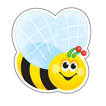 Mini Accents Bee 36/Pk 3In By Trend Enterprises