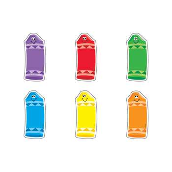 Crayons/Mini Variety Pk Mini Accents By Trend Enterprises