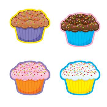 Cupcakes/Mini Variety Pk Mini Accents By Trend Enterprises