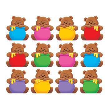 Classic Accents Mini Bears Variety Pack By Trend Enterprises