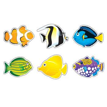 Classic Accents Mini Fish Variety Pack By Trend Enterprises