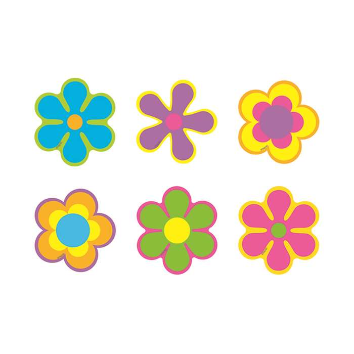 Classic Accents Mini Flower Power Variety Pack By Trend Enterprises
