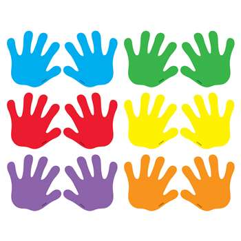 Classic Accents Handprints Mini Variety Pks By Trend Enterprises