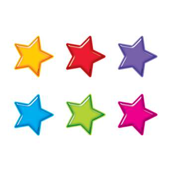 Gumdrop Stars Accents Mini Size Variety Pack By Trend Enterprises
