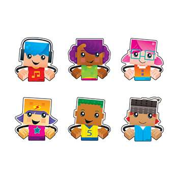 Blockstars Clips Mini Accents Variety Pack, T-10850