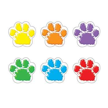 Paw Prints Mini Accents Variety Pack By Trend Enterprises