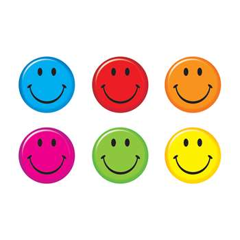 Smiley Faces Mini Accents, T-10874