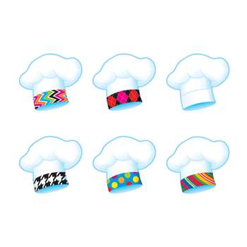 Chefs Hats Bake Shop Mini Accents Variety Pack By Trend Enterprises
