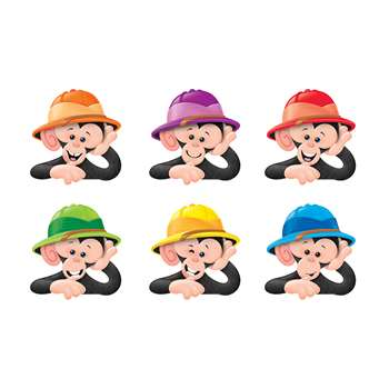 Monkey Mischief Hats Mini Accents Variety Pack, T-10895