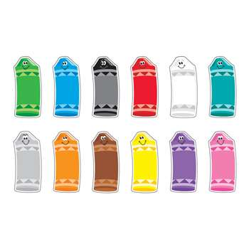Crayon Colors Classic Accents Variety Pk By Trend Enterprises