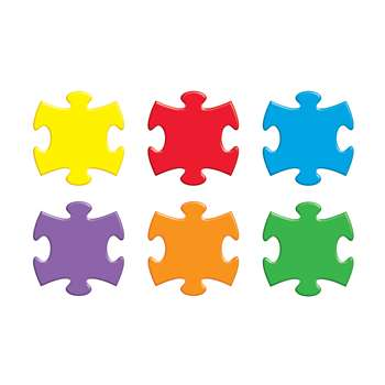 Puzzle Pieces Classic Accents Variety Pack By Trend Enterprises