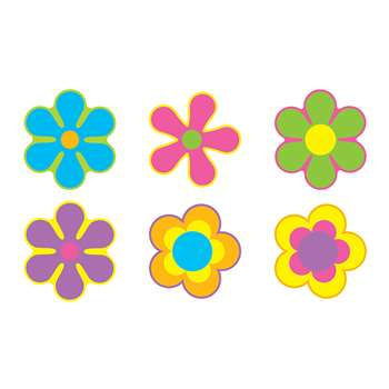 Flower Power Variety Pk Classic Accents By Trend Enterprises