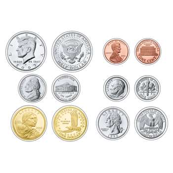 Us Coins Variety Pk Classic Accents By Trend Enterprises
