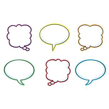 Speech Balloons Variety Pk Classic Accents By Trend Enterprises