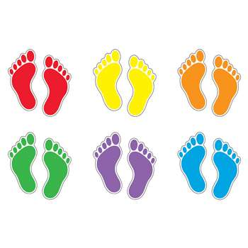 Footprints Variety Pk Classic Accents By Trend Enterprises
