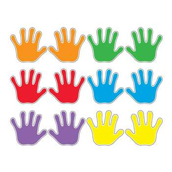Handprints Variety Pk Classic Accents By Trend Enterprises