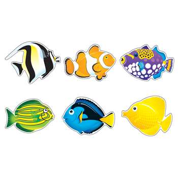 Fish Friends Variety Pk Classic Accents By Trend Enterprises