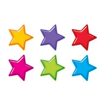 Gumdrop Stars Accents Standard Size Variety Pack By Trend Enterprises