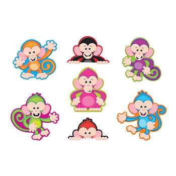 Color Monkeys Accents Standard Size Variety Pack By Trend Enterprises
