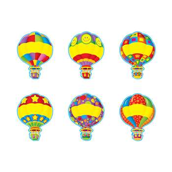 Hot Air Balloons Accents Variety Pack By Trend Enterprises