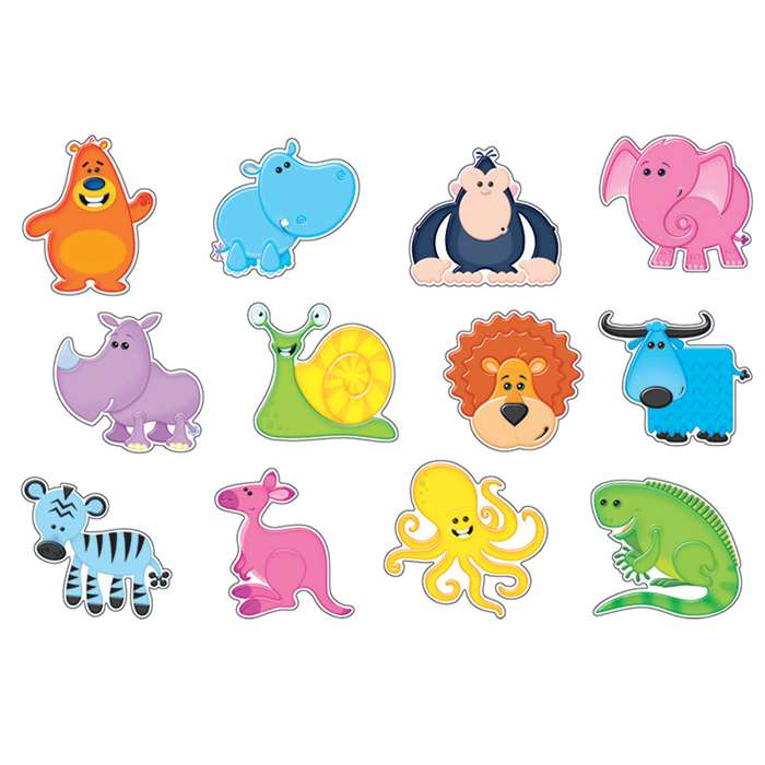 Awesome Animals Accents Variety Pack By Trend Enterprises