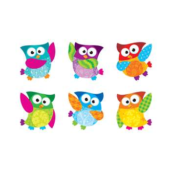 Owl Stars Classic Accents Variety Pack By Trend Enterprises
